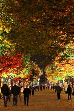 Unter den Linden @ Berlin FESTIVAL OF LIGHTS 2010 (c) Festival of Lights / Christian Kruppa #FestivalofLights  #Berlin #UnterDenLinden