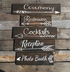 cool wedding signs rustic best photos