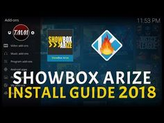 SHOWBOX ARIZE KODI: ADDON INSTALL GUIDE INCLUDING FIRESTICK (HD MOVIES & TV SERIES) 2018 - YouTube Kodi Android, Android Apps, Kodi Amazon Fire, How To Jailbreak Firestick, Hd Movies, Movie Tv, Justice Video, Kodi Streaming, Cable Tv Alternatives