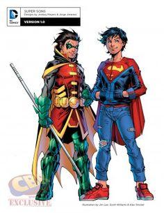 "DC Comics' ""Rebirth"" Character Designs for Batman, Wonder Woman and More | Comic Book Resources"