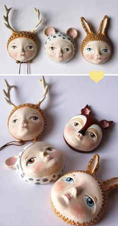 whimsical works by Sweet Bestiary