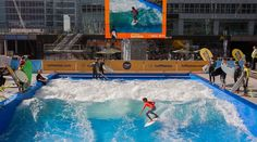 surfing indoors, making surfing accessible to anyone and everyone.