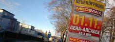 Neueröffnung MEDIMAX in den Gera Arcaden