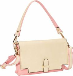 SW Global Gilda Closure Convertible Clutch PinkApricot - #style #accessories #fashion #summer