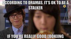 Kdrama Stalking - you're doing it right.  You're Beautiful ♥ Park Shin-hye & Jung Yong-hwa
