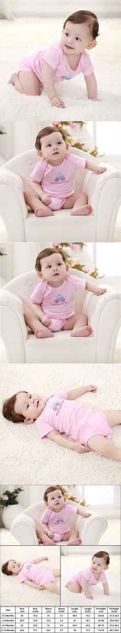 Baby Romper 0-12 Monthes Baby Boy Girl Kawaii Jumpsuits Cotton Soft Summer Style Baby Clothes $7.74