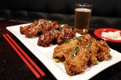 Love Korean fried chicken wings? Arcadia's Hot n Sweet makes 'em light and airy. - LA Times