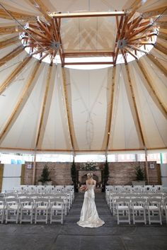 Chesapeake Bay Hotel: Tidewater Inn  - Savannah Series Tent by Sperry Fabric Architecture