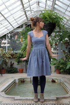 Cambie dress / Sewaholic // chambray Les Trouvailles d'Amandine // Le fil à coudre d'Anna