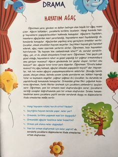 This Pin was discovered by Sev Drama Activities, Educational Activities, Preschool Activities, Science Writing, Values Education, Learn Turkish, Yoga For Kids, Child Development, Kids And Parenting