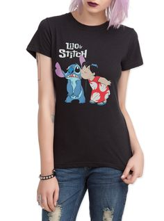 Disney Lilo & Stitch Girls T-Shirt | Hot Topic