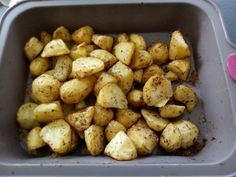 Pommes de terre aux herbes de Provence au four