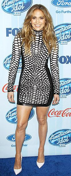 Our verdict: American Idol judge Jennifer Lopez (wearing Tom Ford) looked flawless at the show's premiere