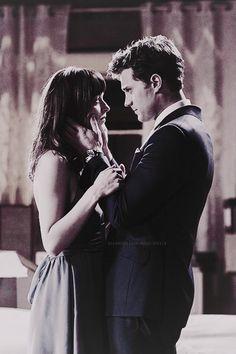 Mr. Grey & Miss. Steele / Fifty Shades Of Grey / movie / trilogy / Christian Grey / Jamie Dornan / Anastasia Steele / Dakota Johnson / 50 Shades