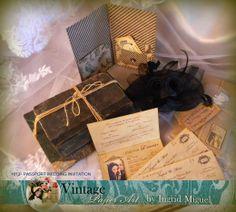 WEDDING INVITATION - PASSPORT