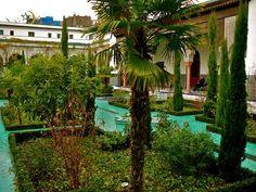 Jardin de la grande Mosquée de Paris