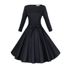 3 4 sleeve cocktail dresses 50s style