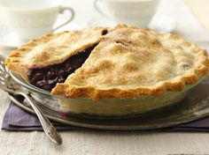 A simple pie like this easy fresh blueberry pie is often a forgotten dessert but one that will bring raves.
