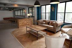 インダストリアルテイストのインテリア、ディティールにこだわった内装デザインぐるなび - HOTEL EMANON こだわり情報