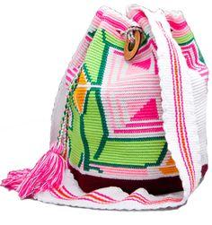 HAUTE COMMODITIES: Mochila bags by the Wayuu Tribeswomen