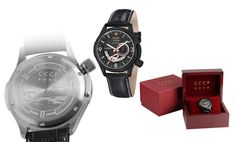 CCCP Shchuka men's watch