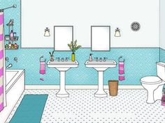Are you cleaning your bathroom correctly? Do it right, and do it fast. #hgtvmagazine http://www.hgtv.com/bathrooms/bathroom-cleaning-done-right-and-fast/index.html?soc=pinterest