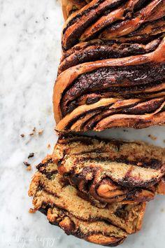 Vegan Chocolate Babka Food Photography, Chocolate Bread, Healthy 'n Happy