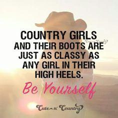 High heels don't make you classy.....
