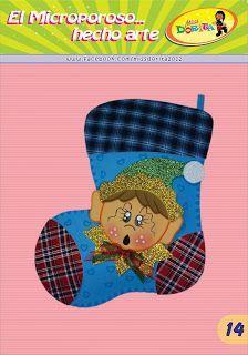 Bota Duende         Miss Dorita: Navidad