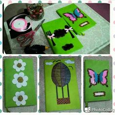 #my #sweet #notebook #handmade #green