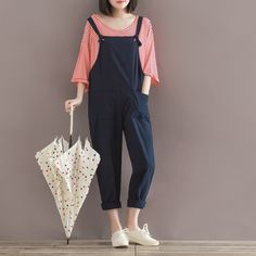 Plus Size Overall For Women Jumpsuits Girls Sexy Casual Overalls Loose Jumpsuits Rompers Femal Playsuit Women Outfit Y279. Yesterday's price: US $29.13 (24.08 EUR). Today's price: US $20.39 (16.87 EUR). Discount: 30%.