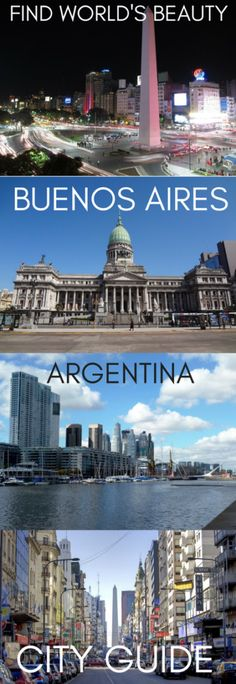 Buenos Aires is a city famed for its renowned music and dance culture, its European style squares and architecture and its globally influential cuisine. The city has an astounding spectrum of sight…