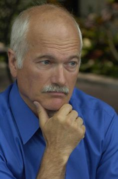 Jack Layton...a beloved and admired public official/politician. RIP