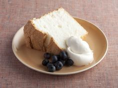 Angel Food Cake recipe from Alton Brown via Food Network