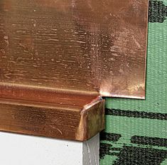 A pro shows how he shapes and solders copper cap flashing, a window's first line of defense against water Bike Shed, Window Repair, Tiny House Cabin, Colorado Homes, Old Wall, Home Repair, Soldering, Outdoor Projects, Cladding