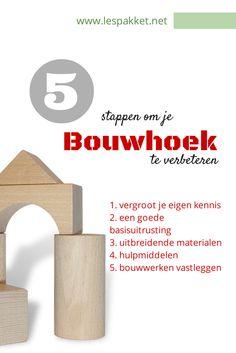 Hoe verbeter je je bouwhoek, in 5 stappen - Lespakket