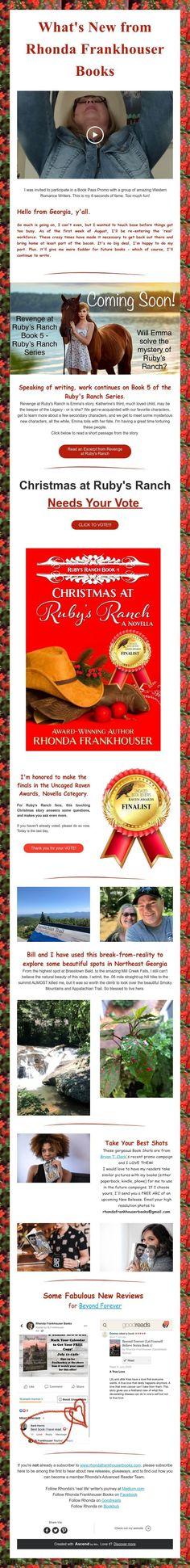 What's New from Rhonda Frankhouser Books