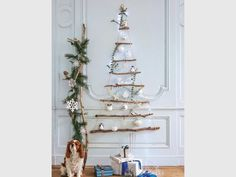 Sapin de Noël : 20 modèles originaux... sans sapin ! Ladder Decor, Home Decor, Fir Tree, Originals, Decoration Home, Room Decor, Interior Decorating