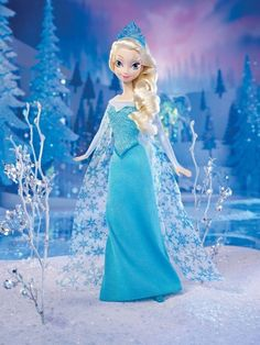 Disney Frozen Sparkle Princess Elsa Doll- NEW - FREE FAST SHIPPING!