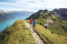 Cheese, wine and beautiful mountains make trail running in Switzerland a special experience
