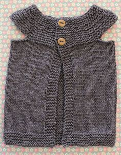 free pattern for this adorable vest