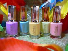 Catherine Nail Selection Paradiso ~ Frühlingsgefühle... http://www.colorful-things.de/2016/02/11/catherine-nail-classic-lac-selection-paradiso/