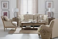 ethanallen.com - Romance Provence Living Room | Express | Ethan Allen | furniture | interior design