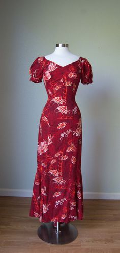 1950s Alfred Shaheen Bombshell Hourglass by KittyGirlVintage