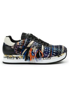 Designer Clothes, Shoes & Bags for Women Colorful Sneakers, Colorful Shoes, Sneakers N Stuff, Shoes Sneakers, Baskets, Zapatillas Casual, Pamela, Braided Leather, Shoe Box
