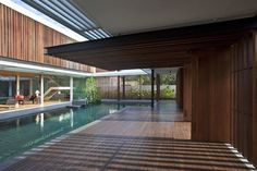 """""""Enclosed Open House"""" by Wallflower Architecture + Design, Singapore"""