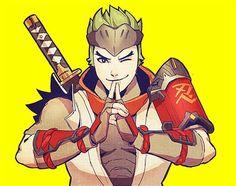 Overwatch Young Genji
