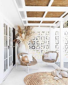 Design Room, House Design, Beach Interior Design, Patio Design, Home Fashion, Cheap Home Decor, Style At Home, Home Remodeling, Interior And Exterior