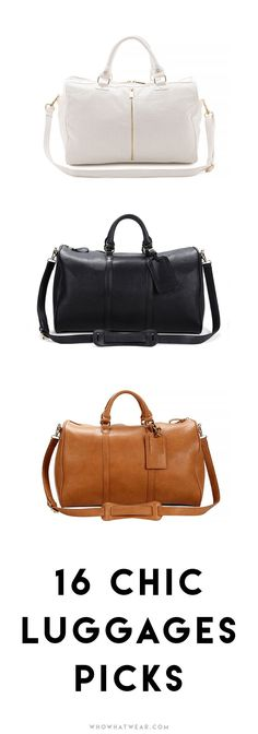 16 chic pieces of luggage to replace a beat-up suitcase