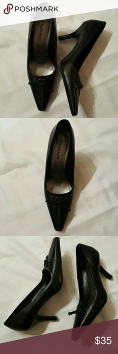 """Etienne Aigner Shoes NWOT This is a gorgeous pair of Etienne Aigner Shoes with decorative tie in front and 3 1/2"""" Heel. Never worn and really hard to find style. Etienne Aigner Shoes Heels"""